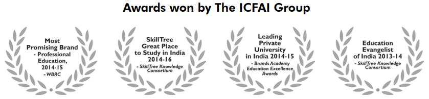 ICFAI University Awards